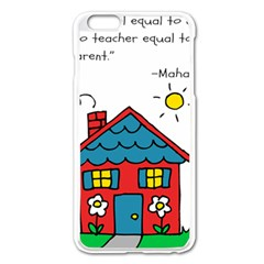 No School Greater    Apple Iphone 6 Plus/6s Plus Enamel White Case by athenastemple