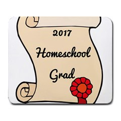 2017 Homeschool Grad! Large Mousepads by athenastemple