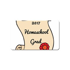 2017 Homeschool Grad! Magnet (name Card) by athenastemple