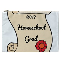 2017 Homeschool Grad! Cosmetic Bag (xxl)  by athenastemple