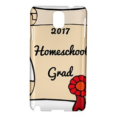 2017 Homeschool Grad! Samsung Galaxy Note 3 N9005 Hardshell Case by athenastemple