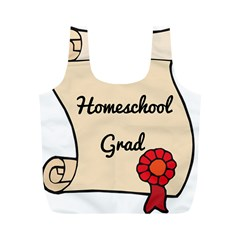 2017 Homeschool Grad! Full Print Recycle Bags (m)  by athenastemple