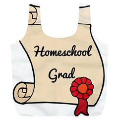 2017 Homeschool Grad! Full Print Recycle Bags (l)  by athenastemple