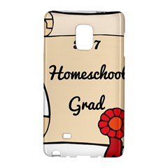 2017 Homeschool Grad! Galaxy Note Edge by athenastemple