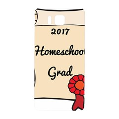 2017 Homeschool Grad! Samsung Galaxy Alpha Hardshell Back Case by athenastemple