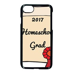 2017 Homeschool Grad! Apple Iphone 7 Seamless Case (black) by athenastemple