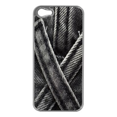 Backdrop Belt Black Casual Closeup Apple Iphone 5 Case (silver)