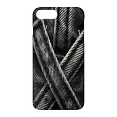 Backdrop Belt Black Casual Closeup Apple Iphone 7 Plus Hardshell Case by Nexatart