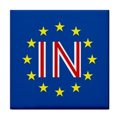 Britain Eu Remain Tile Coasters