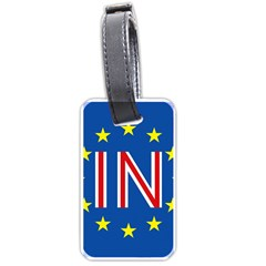 Britain Eu Remain Luggage Tags (one Side)