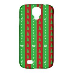 Christmas Tree Background Samsung Galaxy S4 Classic Hardshell Case (pc+silicone) by Nexatart