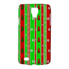 Christmas Paper Pattern Galaxy S4 Active by Nexatart