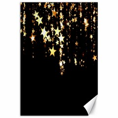 Christmas Star Advent Background Canvas 12  X 18