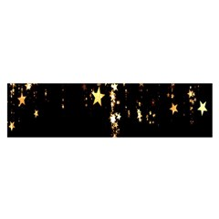 Christmas Star Advent Background Satin Scarf (oblong)