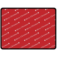 Christmas Paper Background Greeting Fleece Blanket (large)  by Nexatart