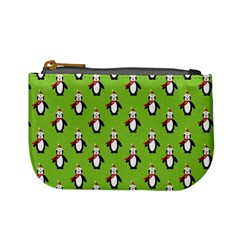 Christmas Penguin Penguins Cute Mini Coin Purses by Nexatart