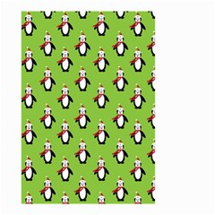Christmas Penguin Penguins Cute Small Garden Flag (two Sides)
