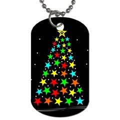 Christmas Time Dog Tag (one Side) by Nexatart