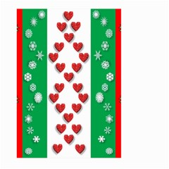 Christmas Snowflakes Christmas Trees Large Garden Flag (two Sides)