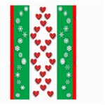 Christmas Snowflakes Christmas Trees Large Garden Flag (Two Sides) Back