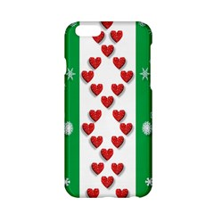 Christmas Snowflakes Christmas Trees Apple Iphone 6/6s Hardshell Case