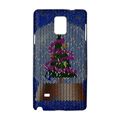 Christmas Snow Samsung Galaxy Note 4 Hardshell Case by Nexatart