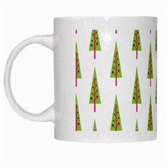Christmas Tree White Mugs