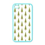 Christmas Tree Apple iPhone 4 Case (Color) Front