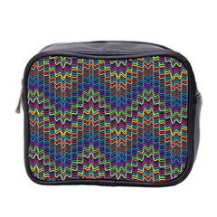 Decorative Ornamental Abstract Mini Toiletries Bag 2 Side by Nexatart