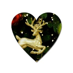 December Christmas Cologne Heart Magnet