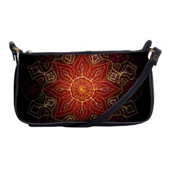 Floral Kaleidoscope Shoulder Clutch Bags