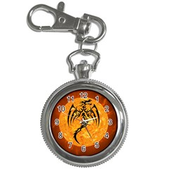 Dragon Fire Monster Creature Key Chain Watches by Nexatart