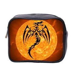 Dragon Fire Monster Creature Mini Toiletries Bag 2 Side by Nexatart