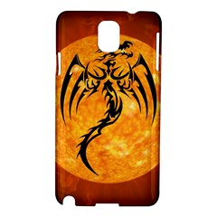 Dragon Fire Monster Creature Samsung Galaxy Note 3 N9005 Hardshell Case by Nexatart