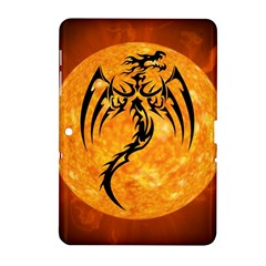 Dragon Fire Monster Creature Samsung Galaxy Tab 2 (10 1 ) P5100 Hardshell Case  by Nexatart