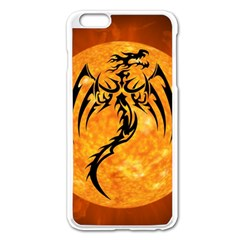 Dragon Fire Monster Creature Apple Iphone 6 Plus/6s Plus Enamel White Case by Nexatart