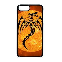 Dragon Fire Monster Creature Apple Iphone 7 Plus Seamless Case (black) by Nexatart