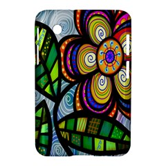 Folk Art Flower Samsung Galaxy Tab 2 (7 ) P3100 Hardshell Case  by Nexatart