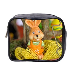 Easter Hare Easter Bunny Mini Toiletries Bag 2 Side