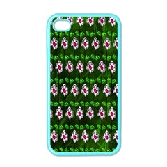 Floral Pattern Apple Iphone 4 Case (color) by Nexatart