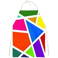 Geometric Blocks Full Print Aprons