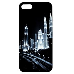 Kuala Lumpur Urban Night Building Apple Iphone 5 Hardshell Case With Stand