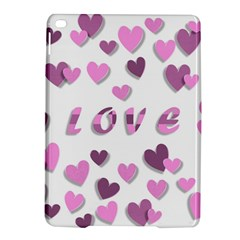 Love Valentine S Day 3d Fabric Ipad Air 2 Hardshell Cases
