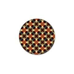 Kaleidoscope Image Background Golf Ball Marker (4 Pack) by Nexatart