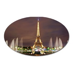 Paris Eiffel Tower Oval Magnet