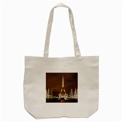 Paris Eiffel Tower Tote Bag (cream)
