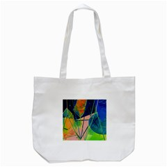 New Form Technology Tote Bag (white) by Nexatart