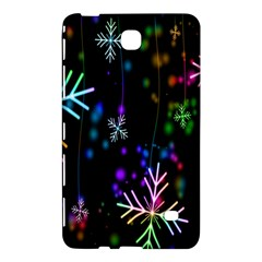 Nowflakes Snow Winter Christmas Samsung Galaxy Tab 4 (8 ) Hardshell Case  by Nexatart