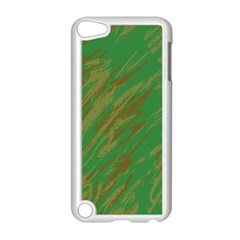 Brown Green Texture                                                 			apple Ipod Touch 5 Case (white) by LalyLauraFLM
