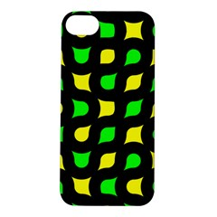 Yellow Green Shapes                                                    			apple Iphone 5s Hardshell Case by LalyLauraFLM
